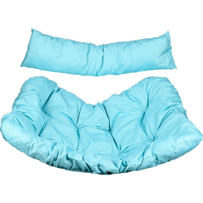 BiGarden Подушка для двухместного подвесного кресла голубая кресла