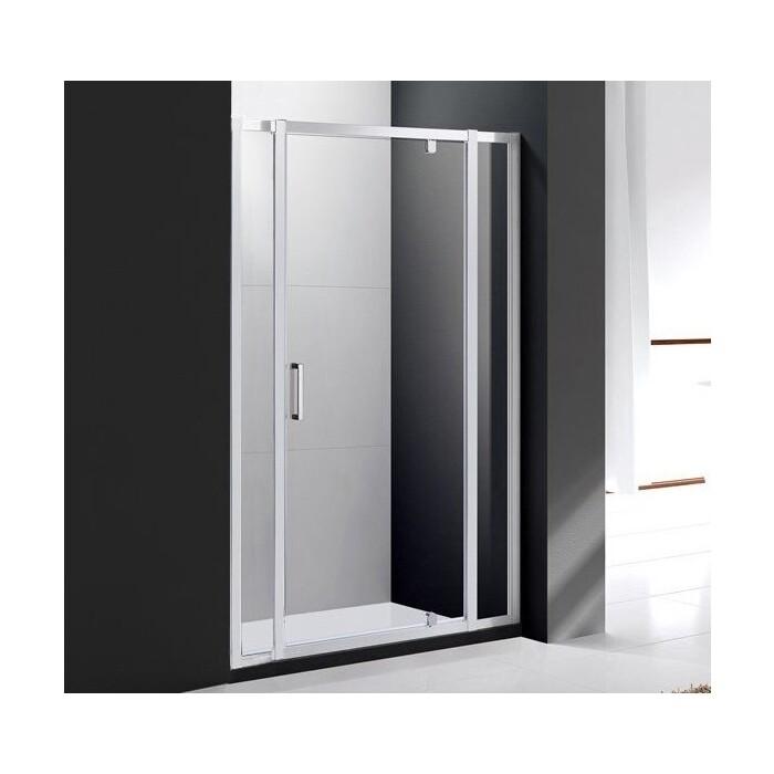 Душевая дверь Cezares Molveno 140x190 прозрачная (MOLVENO-BA-12-80+60-C-Cr-IV)