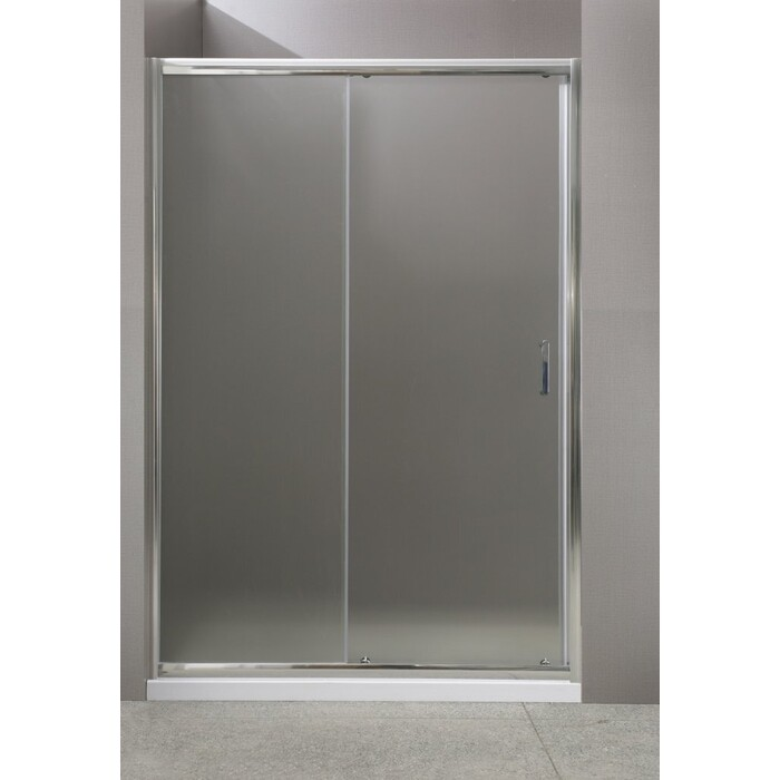 Душевая дверь BelBagno Uno 155x185 прозрачная (UNO-BF-1-155-C-Cr)