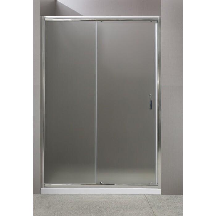 Душевая дверь BelBagno Uno 110x185 рифленая (UNO-BF-1-110-P-Cr)