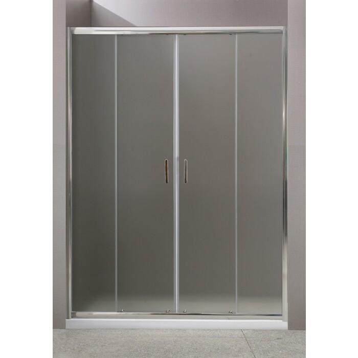 Душевая дверь BelBagno Uno 180x185 рифленая (UNO-BF-2-180-P-Cr)