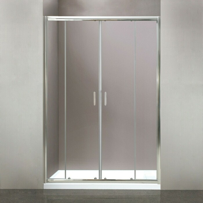 Душевая дверь BelBagno Uno 170x185 прозрачная (UNO-BF-2-170-C-Cr)