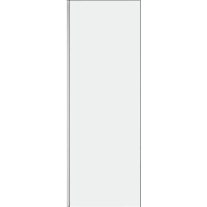 Боковая стенка Cezares Stream 80 прозрачная (STREAM-80-FIX-C-Cr)