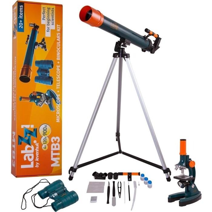 Набор Levenhuk LabZZ MTB3 (телескоп, микроскоп, бинокль)