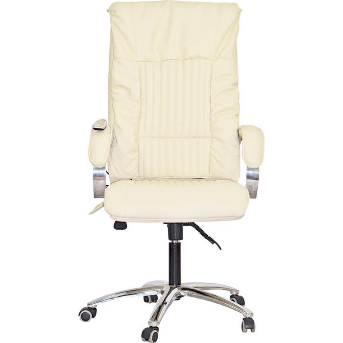 Офисное массажное кресло EGO BOSS EG1001 SE крем арпатек