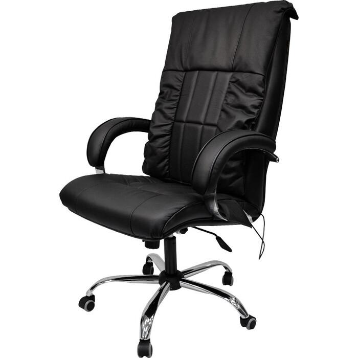 Офисное массажное кресло EGO BOSS EG1001 антрацит арпатек