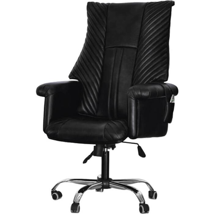 Офисное массажное кресло EGO President EG1005 антрацит арпатек