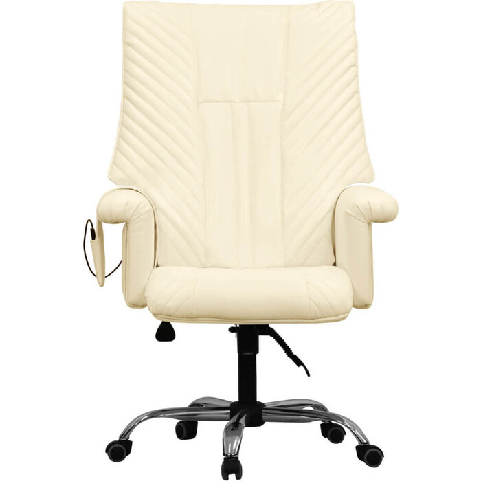Офисное массажное кресло EGO President EG1005 крем арпатек
