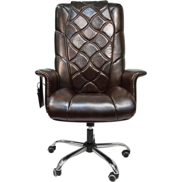Офисное массажное кресло EGO PRIME EG1003 кофе арпатек