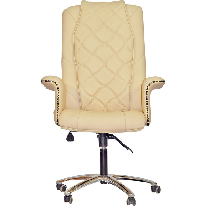 Офисное массажное кресло EGO PRIME EG1003 крем