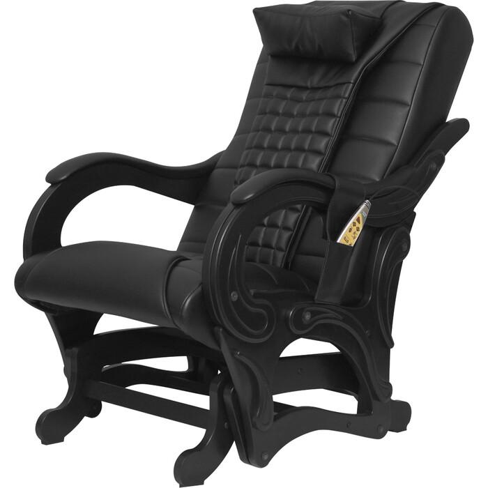 Кресло-глайдер массажное EGO BALANCE EG2003 антрацит арпатек