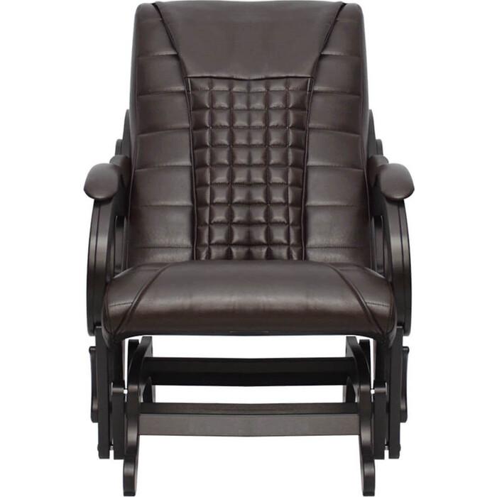 Кресло-глайдер массажное EGO BALANCE EG2003 кофе арпатек