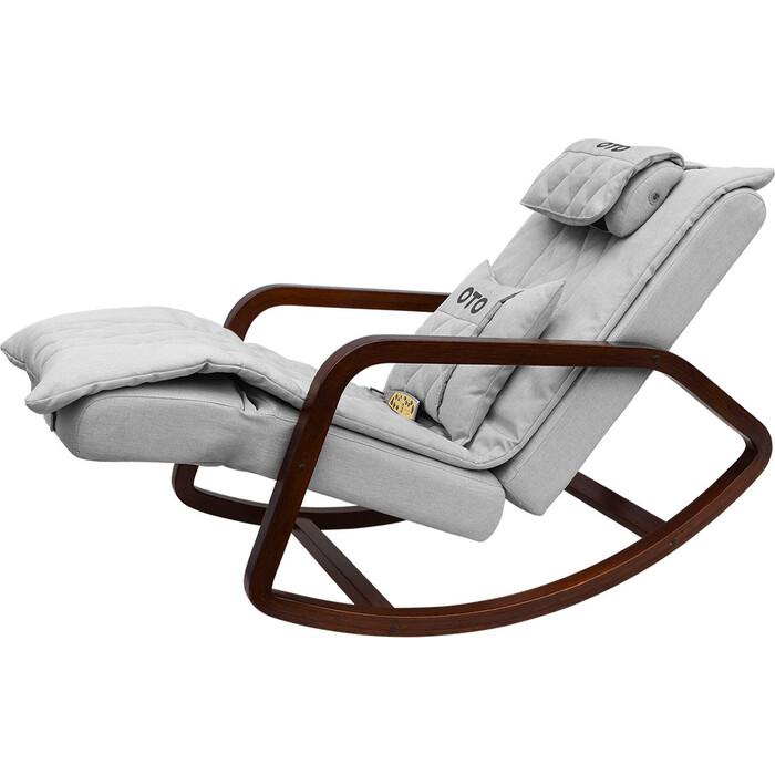 Кресло-качалка массажное OTO Grand Life OT2007 серый