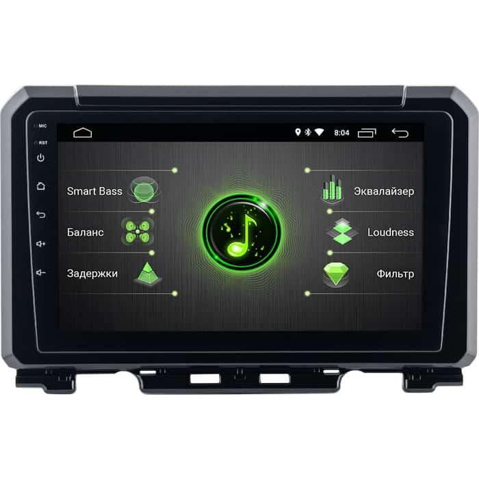 Автомагнитола Incar Suzuki Jimny 19+ (DTA-1701) Android 10/1024*600, IPS, wi-fi, DSP, 9