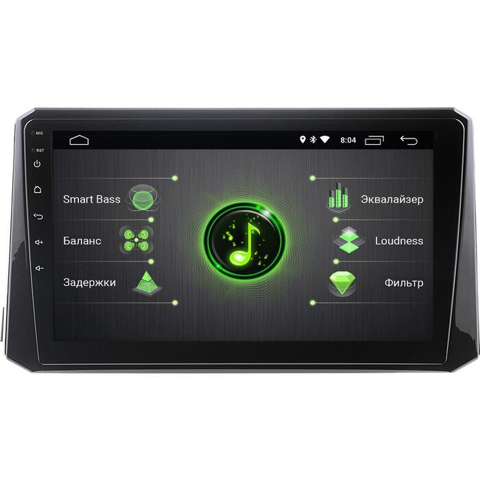 Автомагнитола Incar Toyota Corolla 19+ (DTA-2202) Android 10/1024*600, IPS, wi-fi, 10, DSP