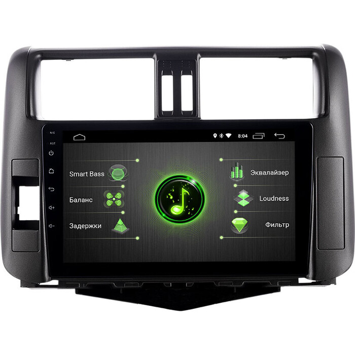 Автомагнитола Incar Toyota Prado 150 09-13 (DTA-2207) Android 10/1024*600, IPS, wi-fi, 9, DSP