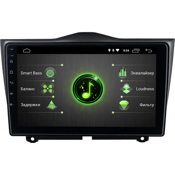 Автомагнитола Incar Lada Granta 19+ (DTA-6302) Android 10/1024*600, IPS, wi-fi, 9, DSP