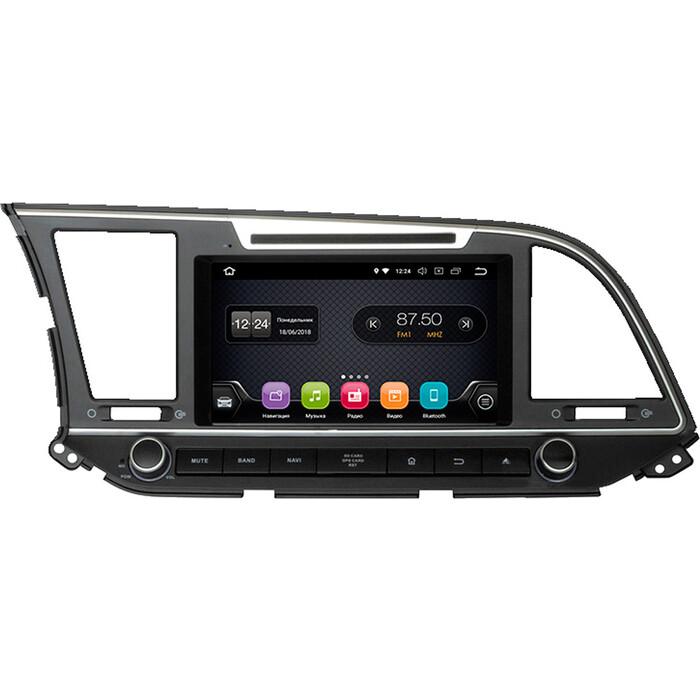 Автомагнитола Incar Hyundai Elantra 16+ (TSA-2432) Android 8.0/1024*600,wi-fi, IPS, 8