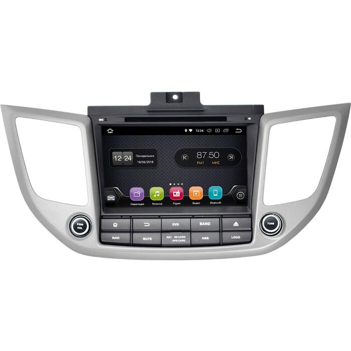 Автомагнитола Incar Hyundai Tucson 16-18 (TSA-2434) Android 8.0/1024*600,wi-fi, 8