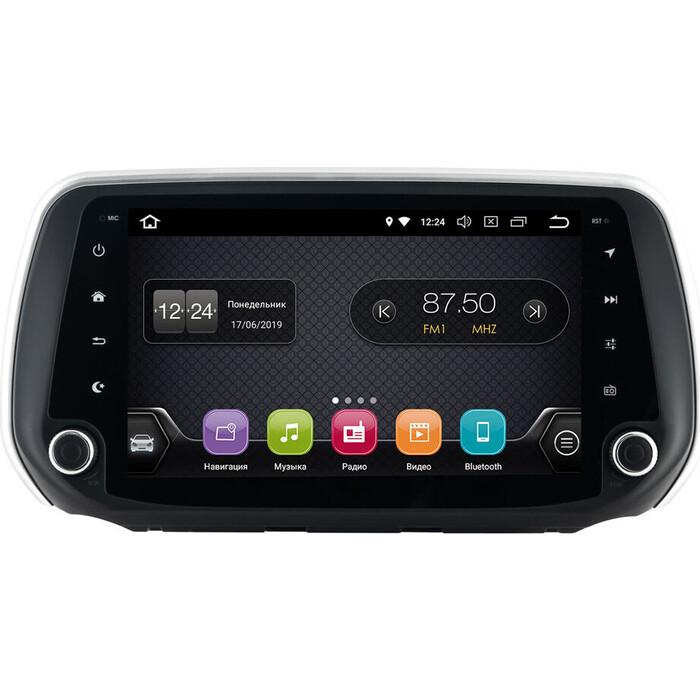 Автомагнитола Incar Hyundai Santa Fe 18+ (TSA-2437) Android 8.1/1024*600, IPS, wi-fi, 9