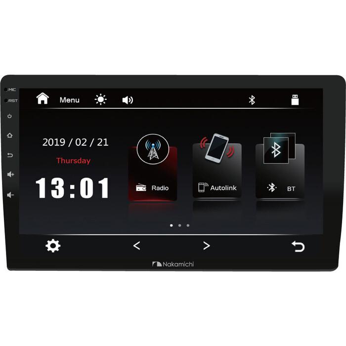 Автомагнитола Nakamichi NAM1700-MX, 10 Автомоб. мультимед сист., 4x50 Вт, RDS, MP5, USB, BT, 2,5D экран, 4V RCA Аудио выхода, MirrorLink.