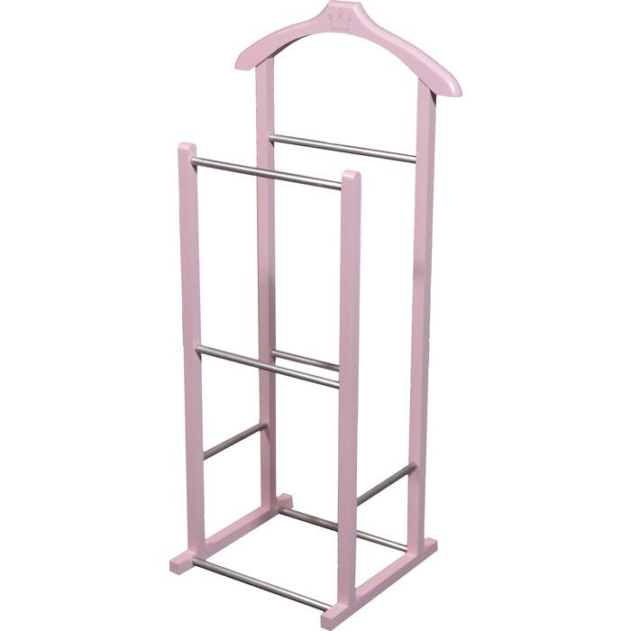 Вешалка костюмная Мебелик В 28 Н розовый