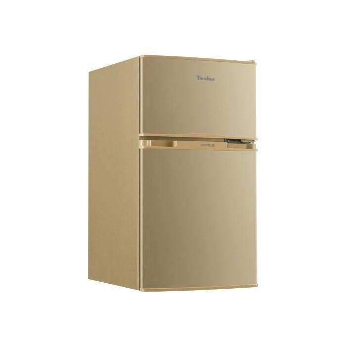 Холодильник Tesler RCT-100 CHAMPAGNE