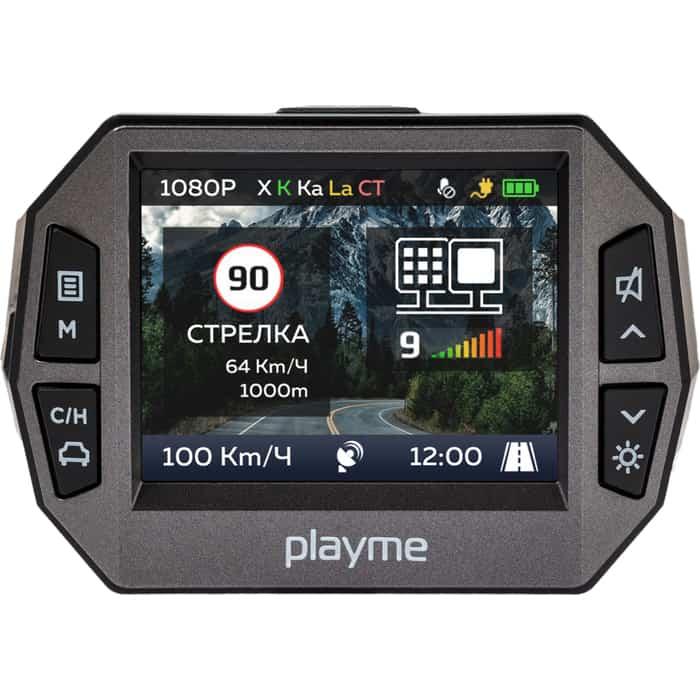 Видеорегистратор Playme с радар-детектором 600G GPS