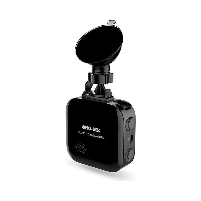 Радар-детектор Sho-Me Quattro Signature GPS приемник черный