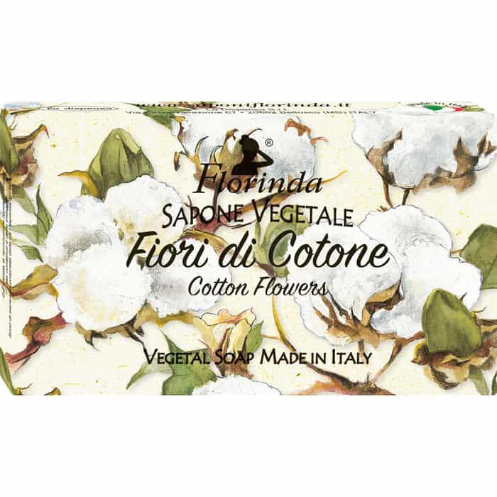 Мыло FLORINDA Fiori Di Cotone / Цветы Хлопка 100 г (Магия Цветов)