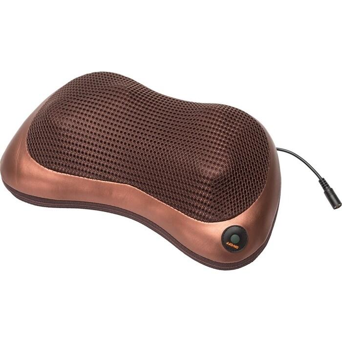 Массажная подушка Bradex KZ 0473 (Шея, Плечи, Спина), коричневая подушка bradex kz 0559