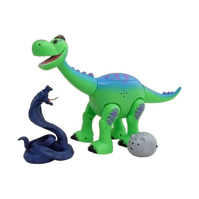 Интерактивная игрушка динозаврик CS Toys Брахиозавр 29 см - ТТ6009А