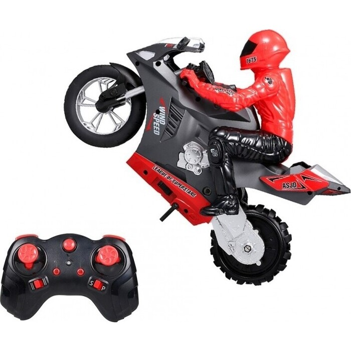 Радиоуправляемый мотоцикл CS Toys (дрифт, GYRO, 1/6) 2.4G - HC-801-RED