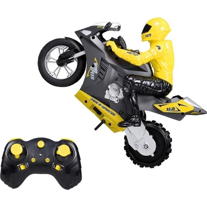Радиоуправляемый мотоцикл CS Toys (дрифт, GYRO, 1/6) 2.4G - HC-801-YELLOW