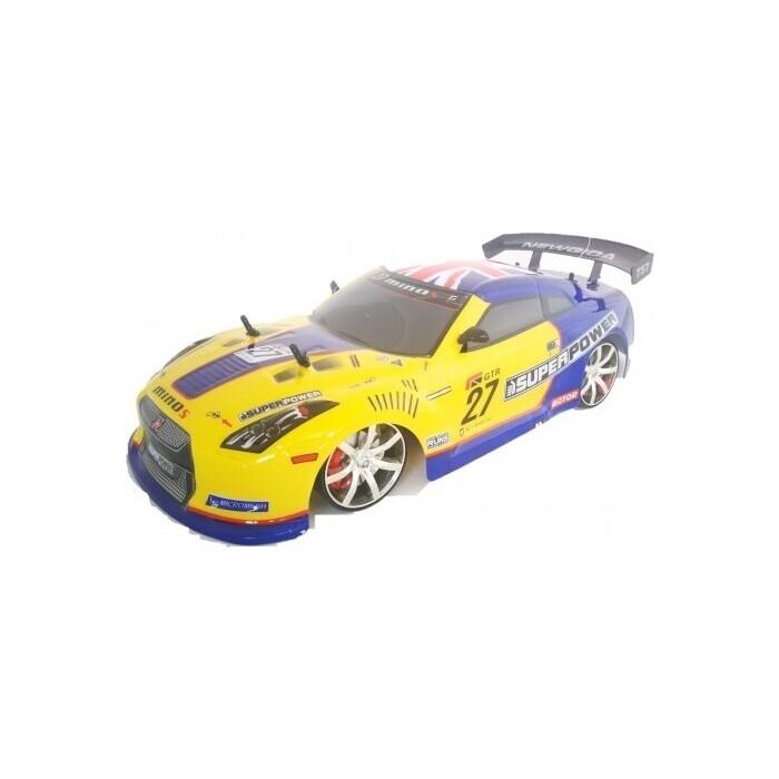 Радиоуправляемый автомобиль NQD для дрифта 4WD 1/10 - 757-4WD01-Yellow