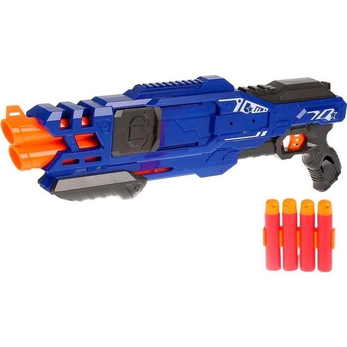 Пистолет Zecong Toys BlazeStorm с мягкими МЕГАпулями (2-ой выстрел) - ZC7111