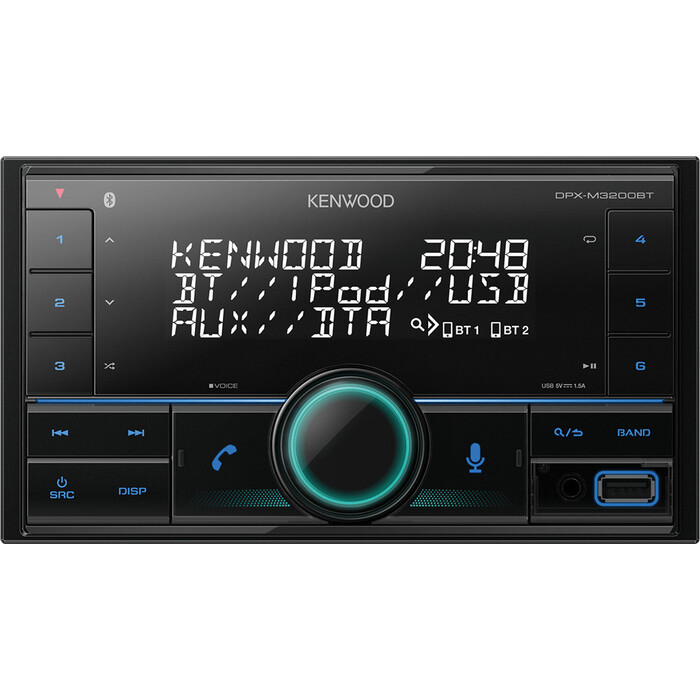 Автомагнитола Kenwood DPX-M3200BT 2DIN