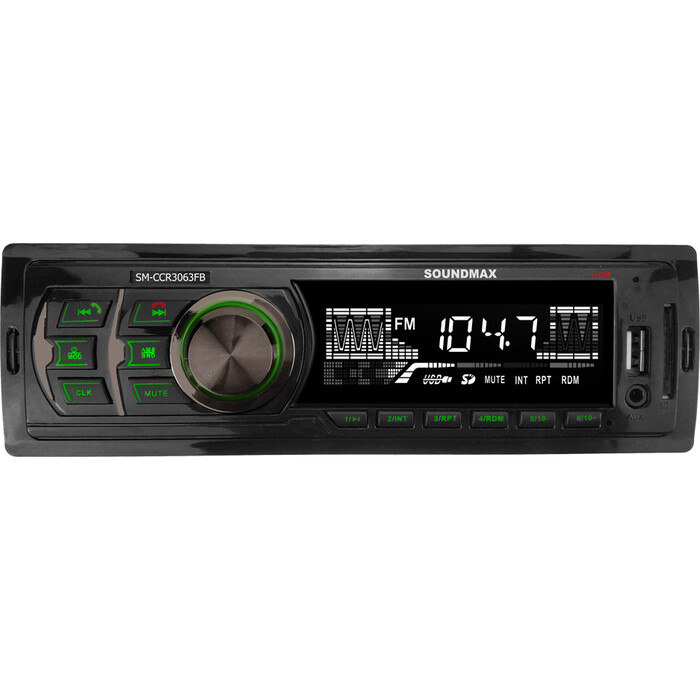Автомагнитола Soundmax SM-CCR3063FB 1DIN