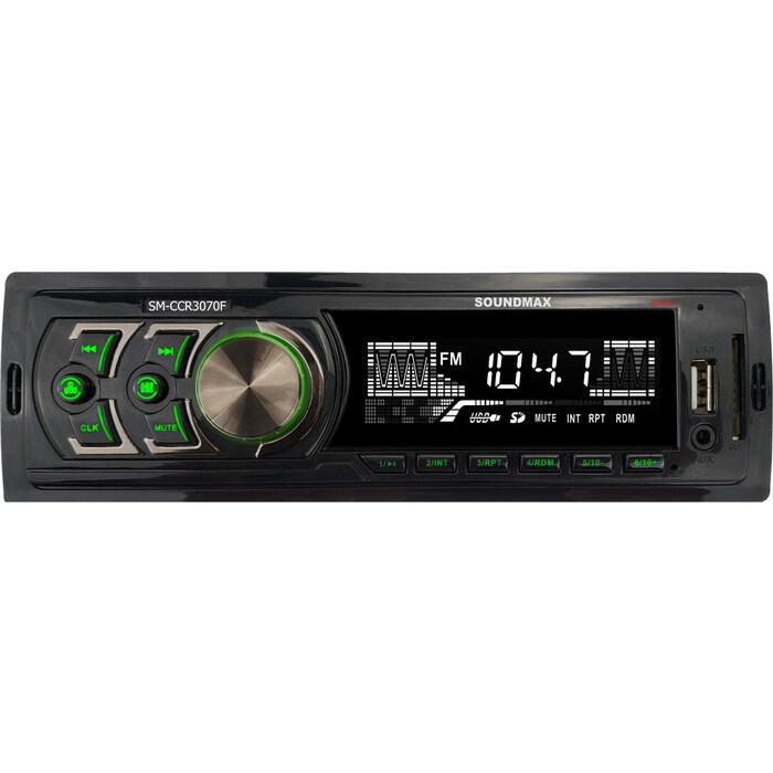 Автомагнитола Soundmax SM-CCR3070F 1DIN