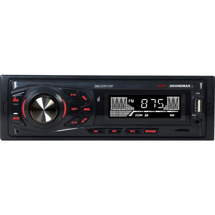 Автомагнитола Soundmax SM-CCR3122F 1DIN