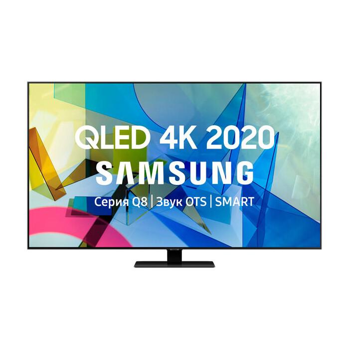 Фото - QLED Телевизор Samsung QE50Q87TAU телевизор samsung ue65ru7300uxru серебристый