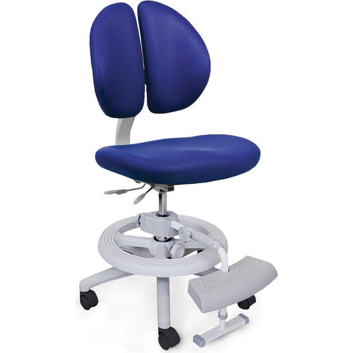 Кресло Mealux Duo-Kid Plus (Y-616) KB обивка синяя однотонная