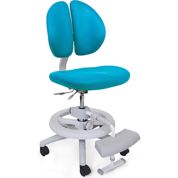 Кресло Mealux Duo-Kid Plus (Y-616) KBL обивка голубая однотонная