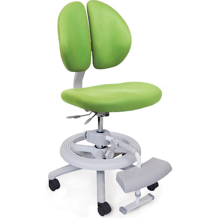 Кресло Mealux Duo-Kid Plus (Y-616) KZ обивка зеленая однотонная