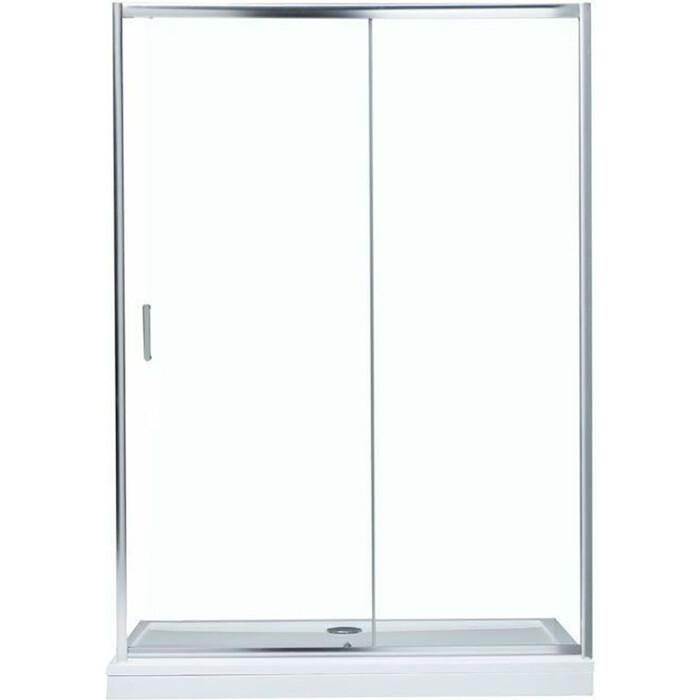 Душевая дверь Aquanet 140х190 стекло прозрачное (SD-1400A)