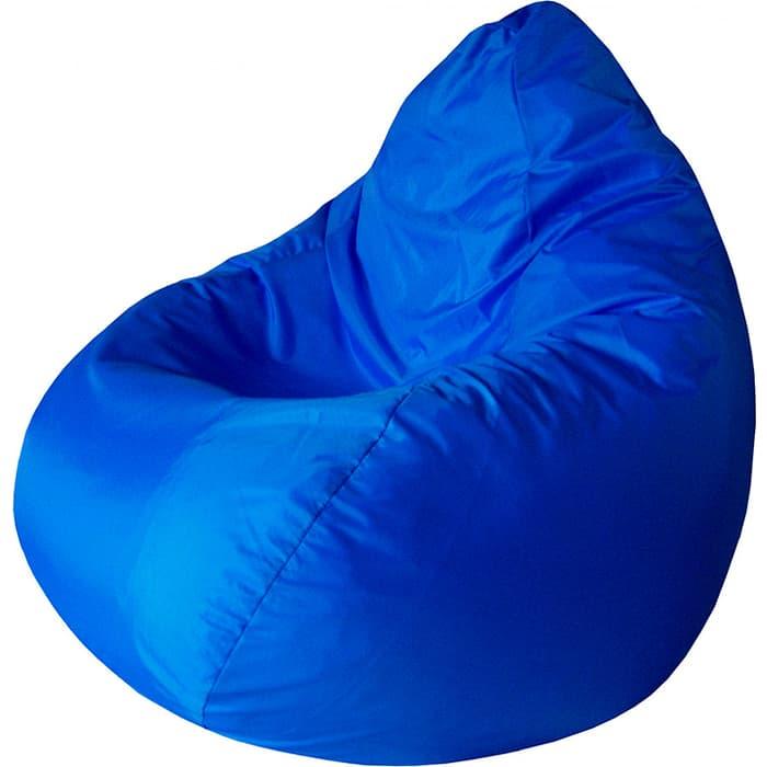 Кресло-мешок Папа Пуф Оксфорд синий L 100x75