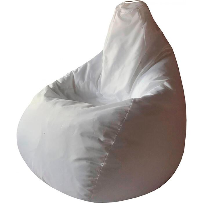 Кресло-мешок Папа Пуф Оксфорд белый 3XL 150x100