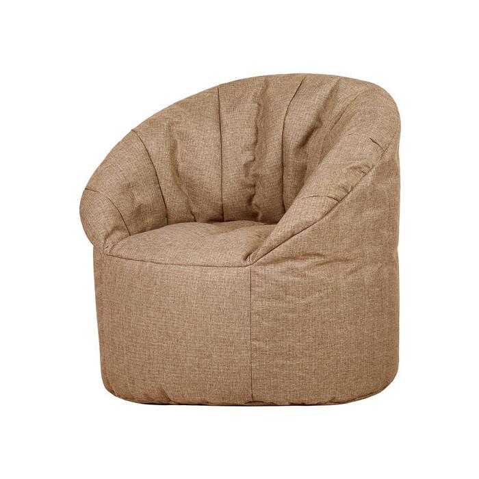 Бескаркасное кресло Папа Пуф Club chair biege