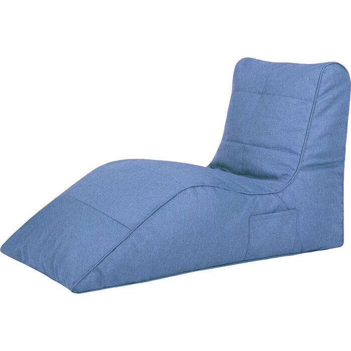 Бескаркасное кресло Папа Пуф Cinema blue