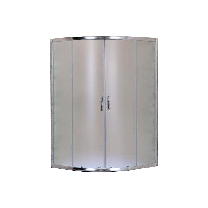 Душевой уголок Aquanet 90x90х160 под высокий поддон, стекло с рисунком (SE-900Q-Short)